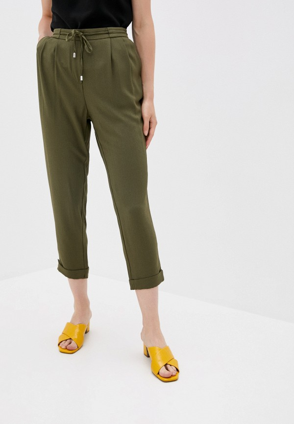 женские брюки джоггеры sela, хаки