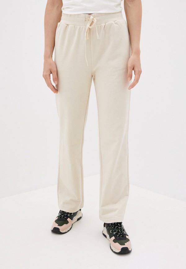 женские брюки sela, бежевые