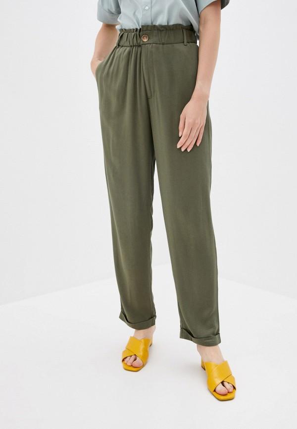 женские повседневные брюки sela, хаки