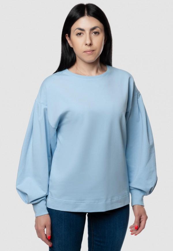женский свитшот arber, голубой
