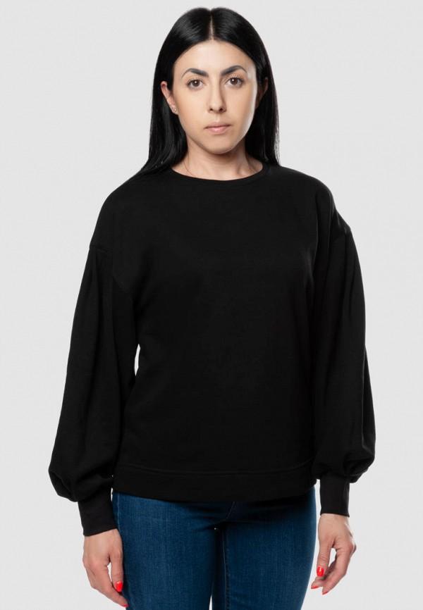 женский свитшот arber, черный