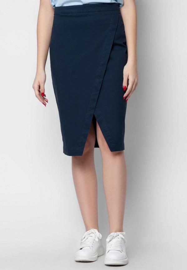 женская зауженные юбка arber, синяя
