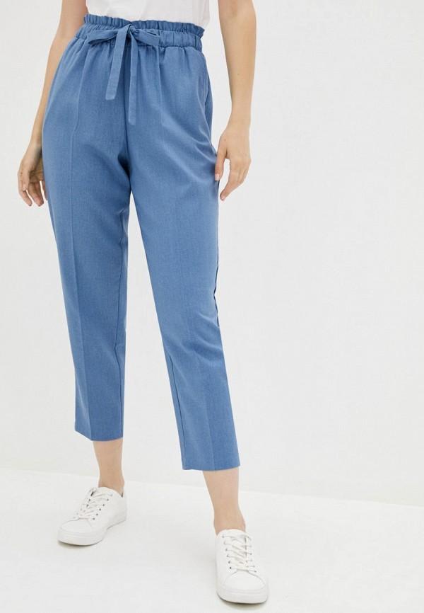 женские зауженные брюки zubrytskaya, синие
