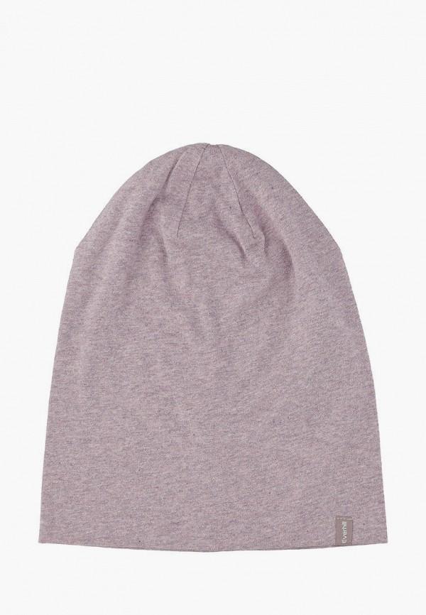 женская шапка everhill, фиолетовая