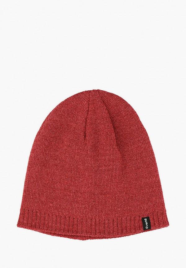 женская шапка everhill, красная