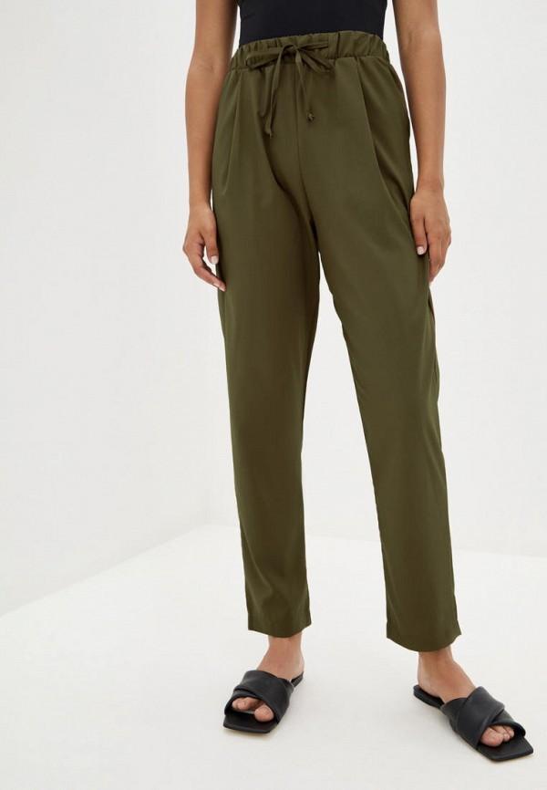 женские повседневные брюки magnet, хаки