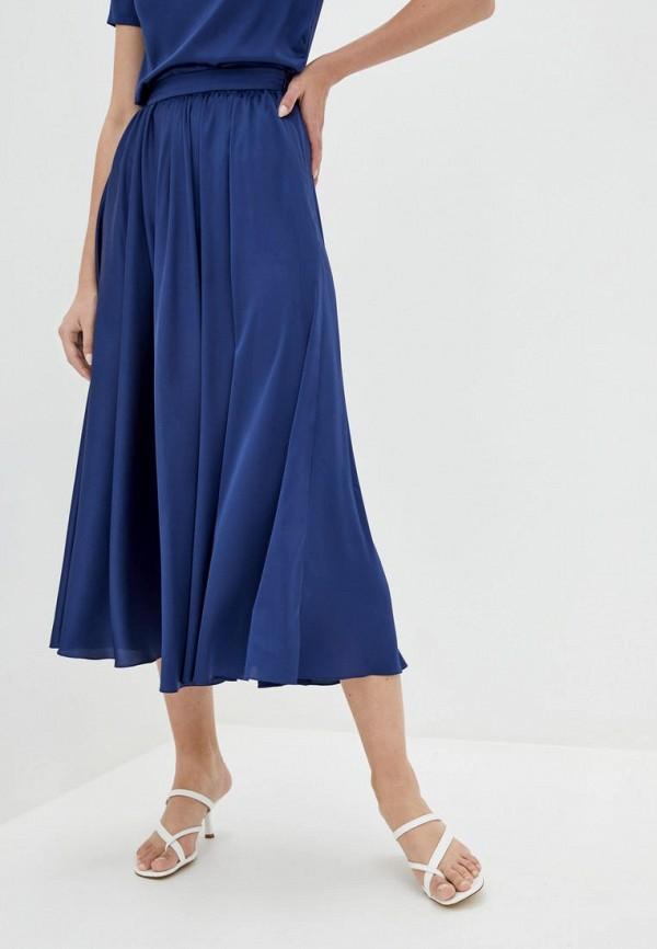 женская юбка pearl fashion group, синяя