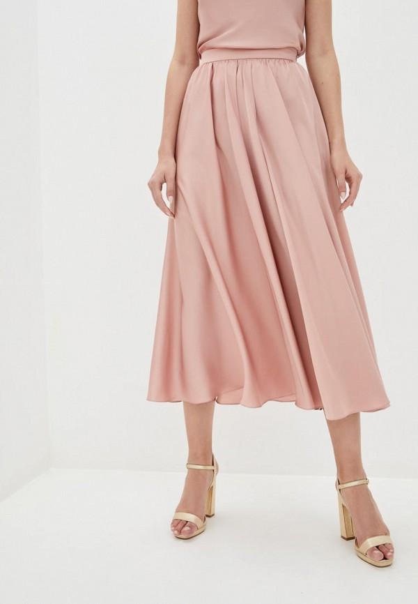 женская юбка pearl fashion group, розовая