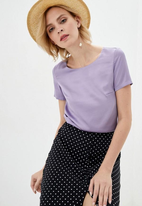 женская блузка pearl fashion group, фиолетовая