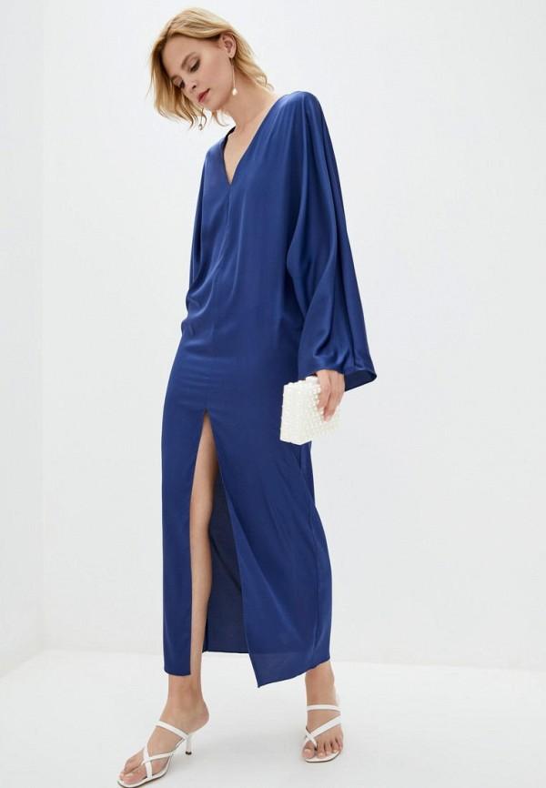 женское повседневные платье pearl fashion group, синее