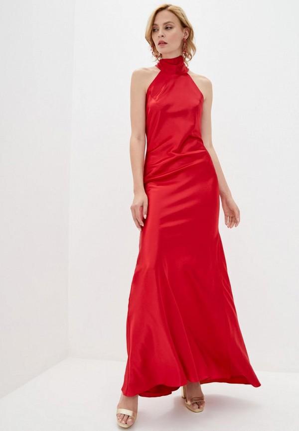 женское вечерние платье pearl fashion group, красное