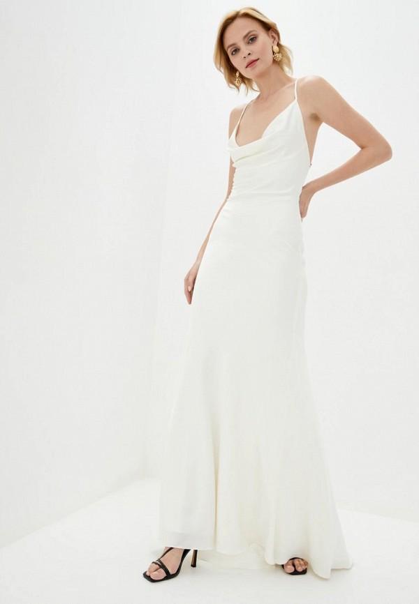 женское платье pearl fashion group, белое