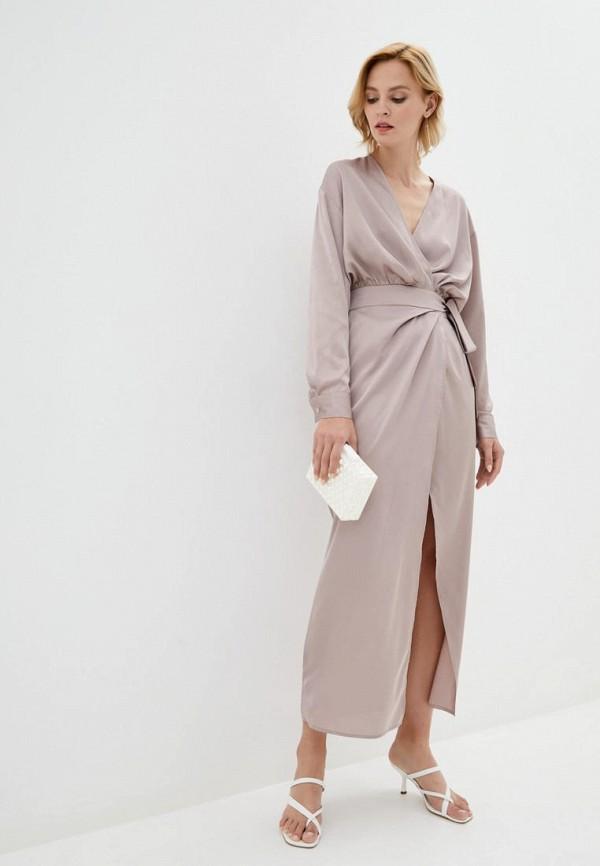женское платье pearl fashion group, бежевое
