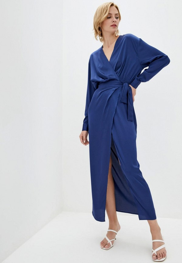 женское платье pearl fashion group, синее