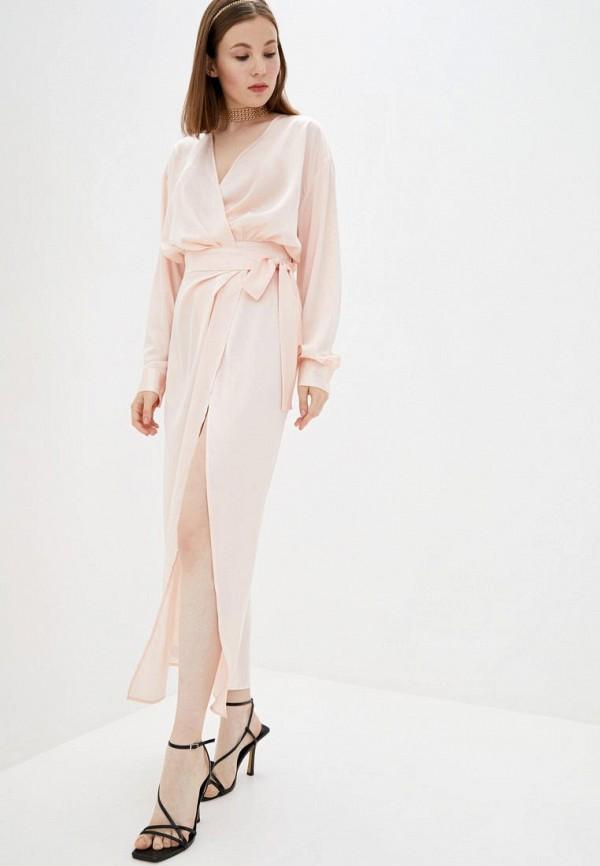 женское платье pearl fashion group, розовое
