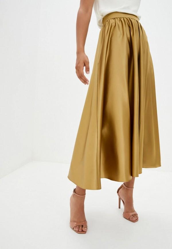 женская юбка pearl fashion group, золотая