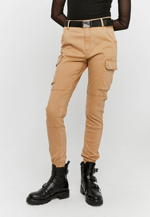женские брюки tally weijl, бежевые