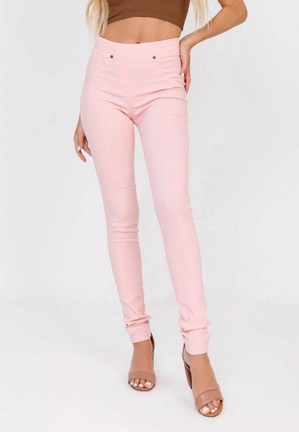 женские повседневные брюки magnet, розовые