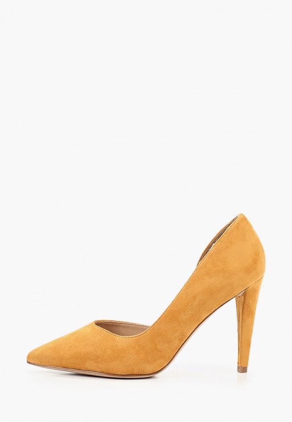 женские туфли-лодочки t.taccardi, желтые