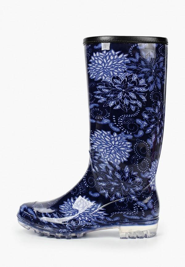 женские резиновые сапоги t.taccardi, синие