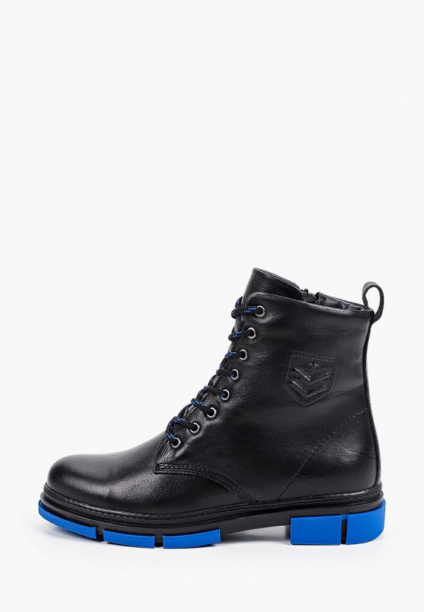 Ботинки Alessio Nesca черного цвета