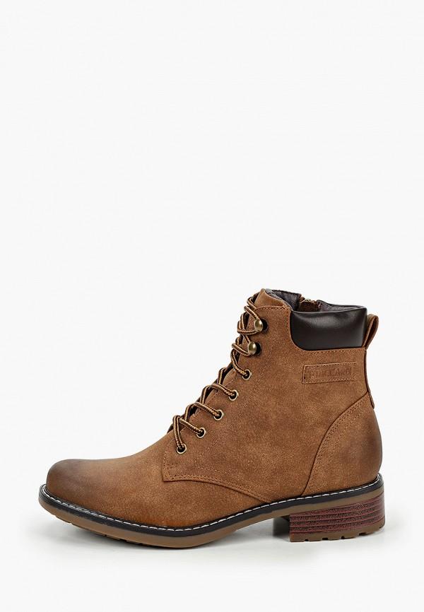 женские ботинки t.taccardi, коричневые