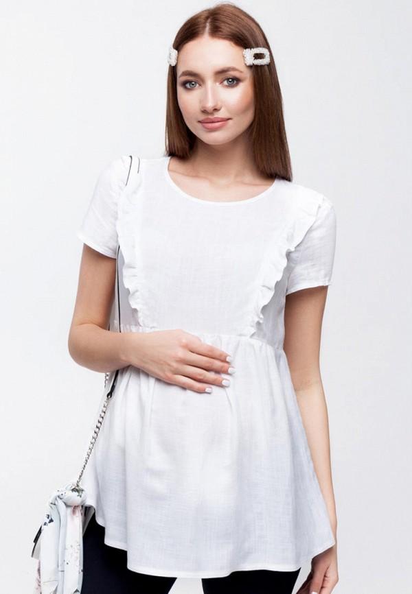 женская блузка юла мама, белая