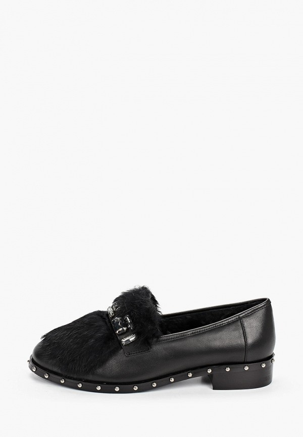 женские лоферы just couture, черные