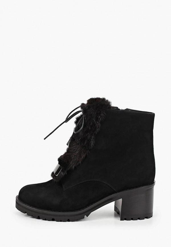 женские высокие ботильоны just couture, черные