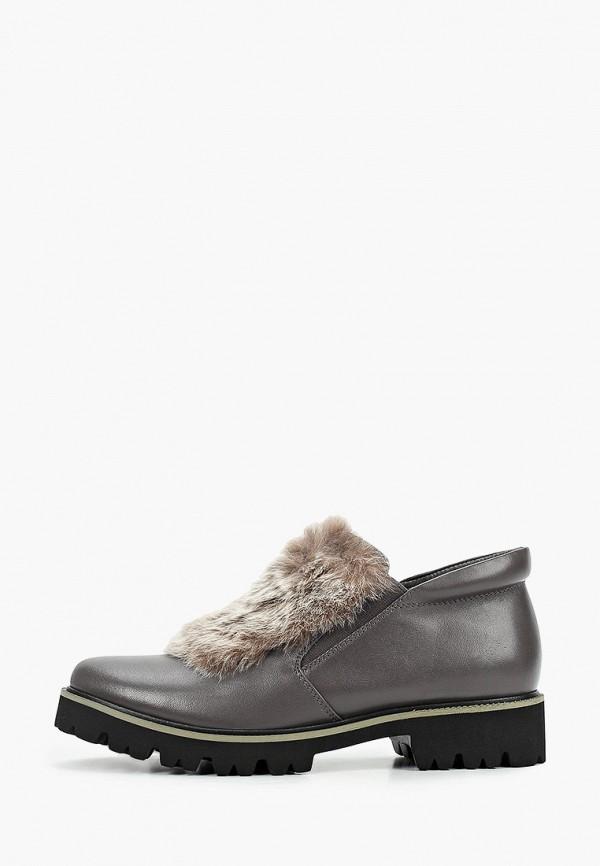 женские низкие ботинки just couture, серые