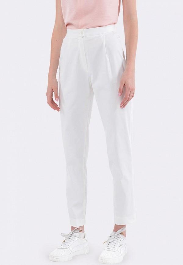 женские зауженные брюки cat orange, белые