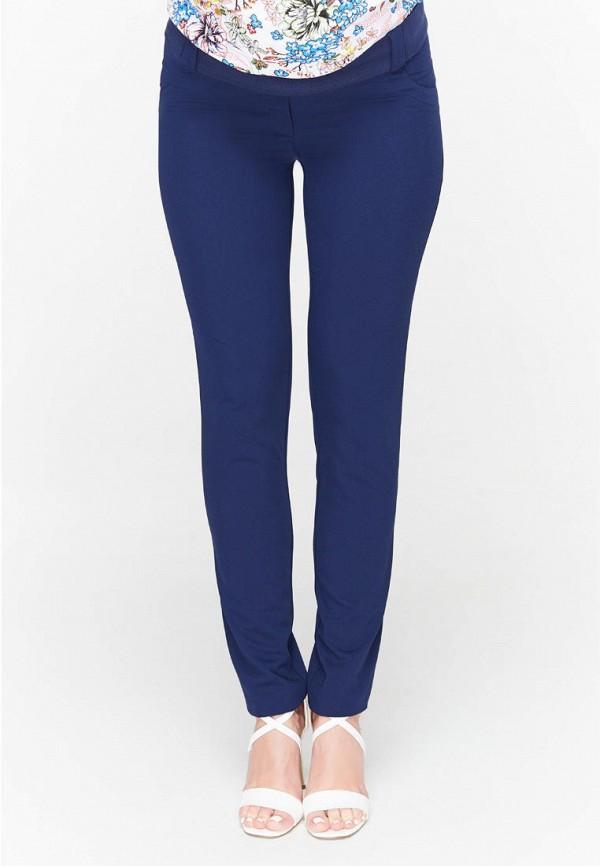 женские повседневные брюки юла мама, синие