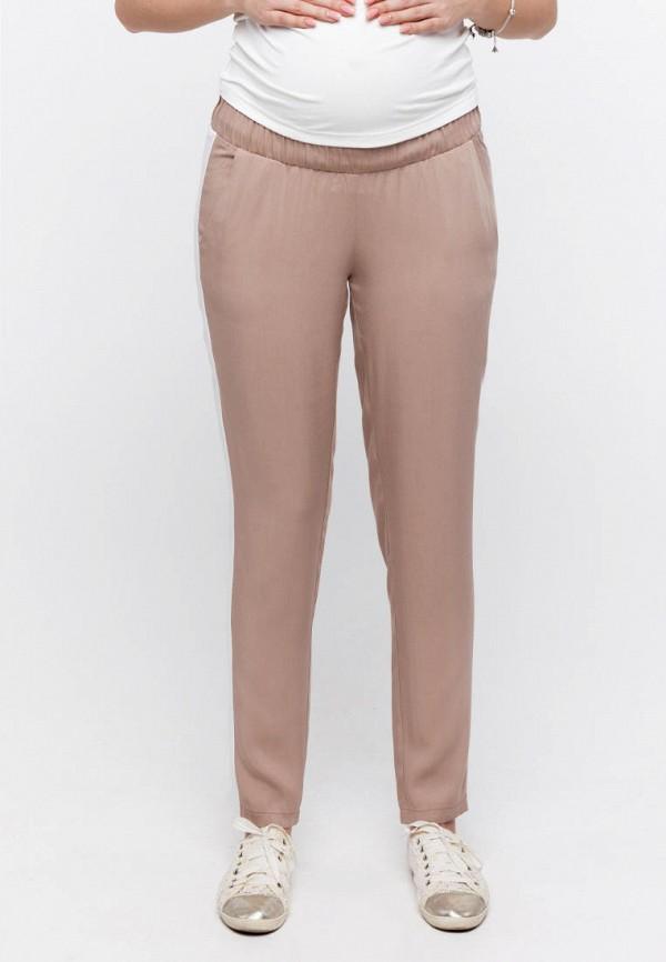 женские брюки юла мама, бежевые