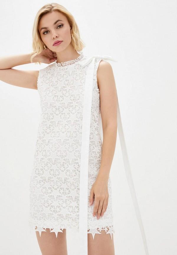 женское повседневные платье frankie morello, белое