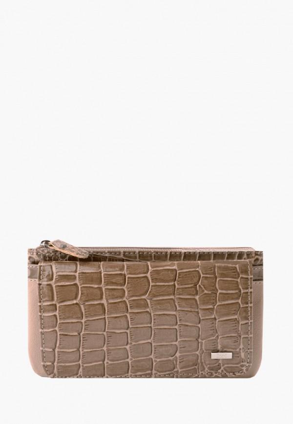 женский кошелёк esse, коричневый