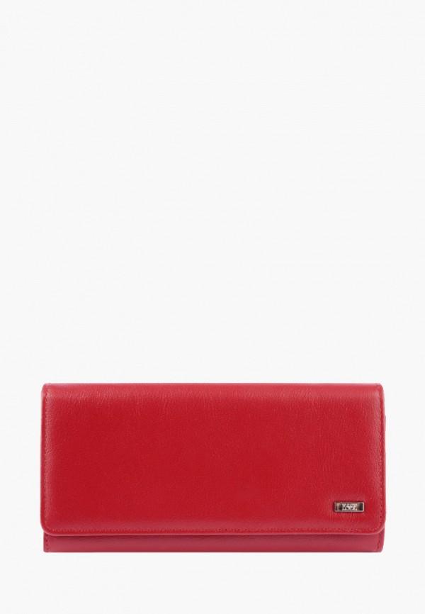 женский кошелёк esse, красный