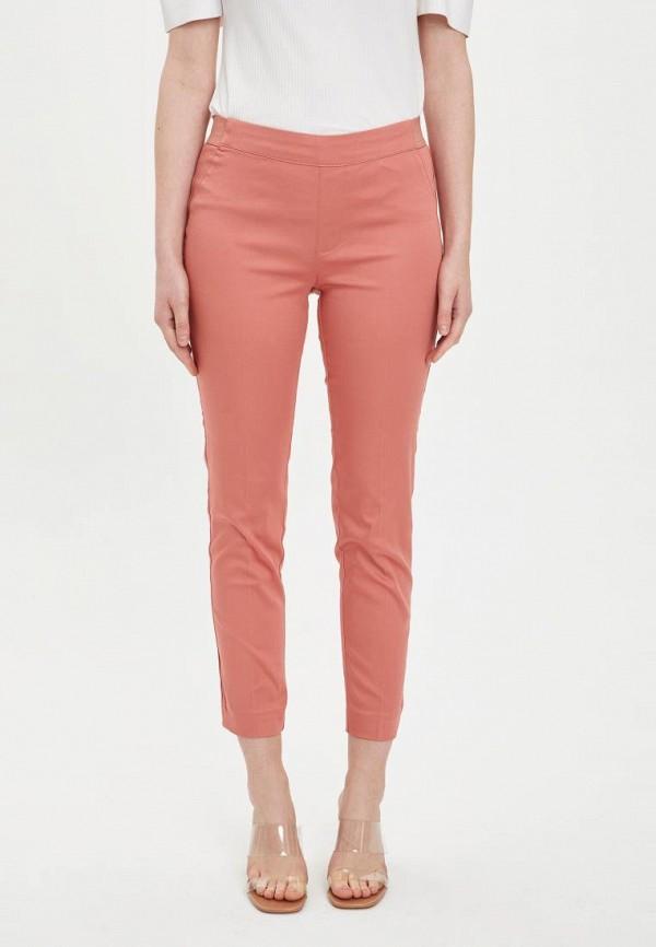 женские повседневные брюки defacto, розовые