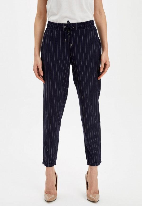 женские брюки defacto, синие