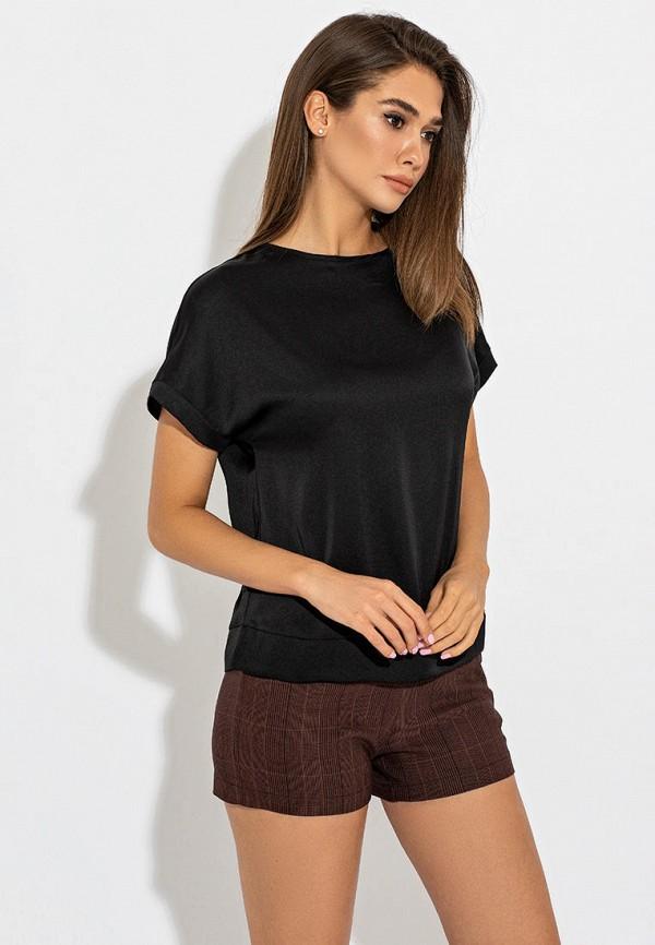 женская блузка itelle, черная