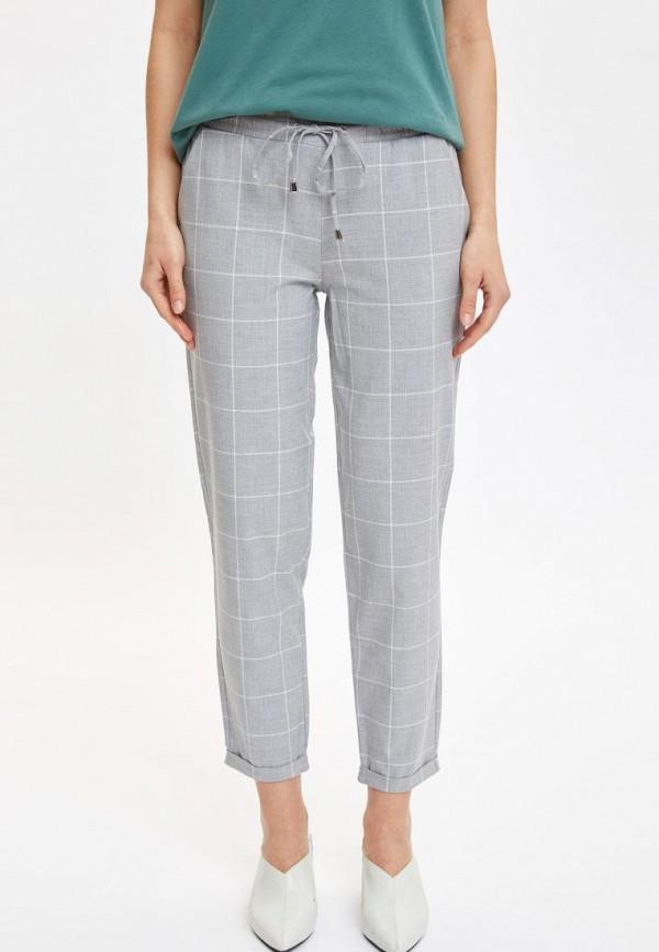женские брюки defacto, серые