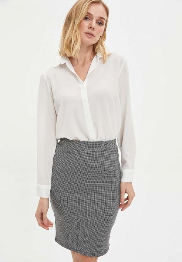 женская блузка defacto, белая