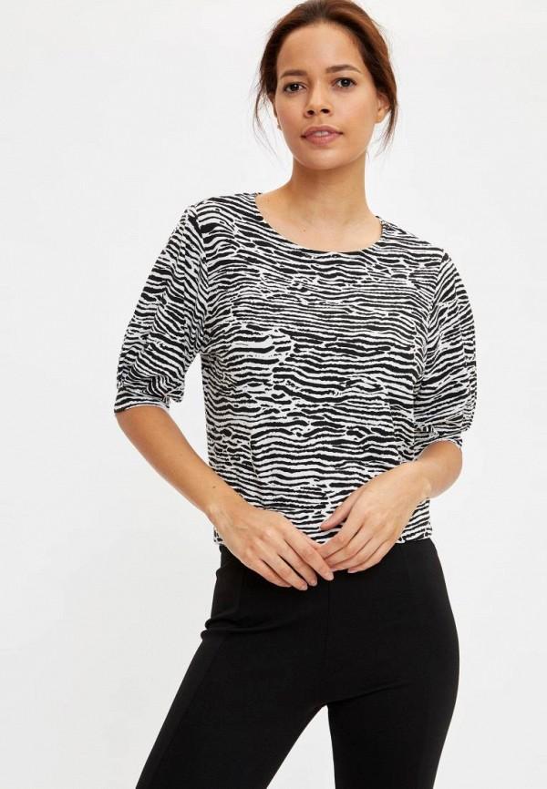 женская блузка defacto, разноцветная