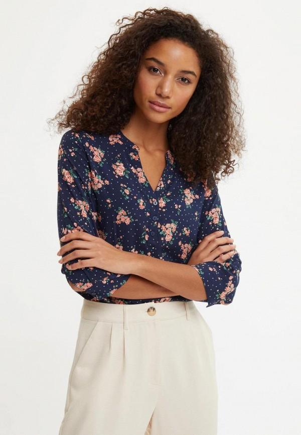 женская блузка defacto, синяя