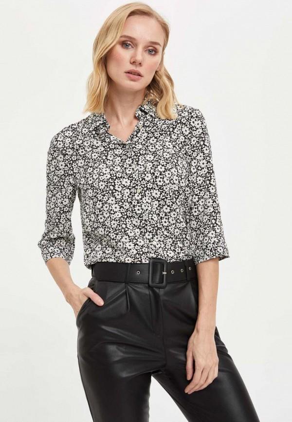 женская рубашка с длинным рукавом defacto, разноцветная