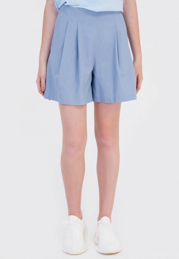 женские повседневные шорты bessa, голубые