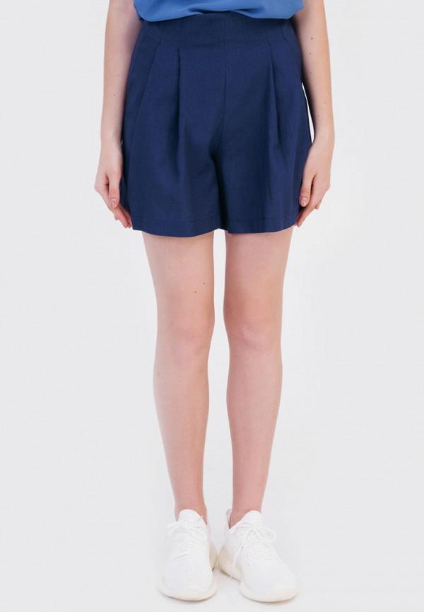женские повседневные шорты bessa, синие