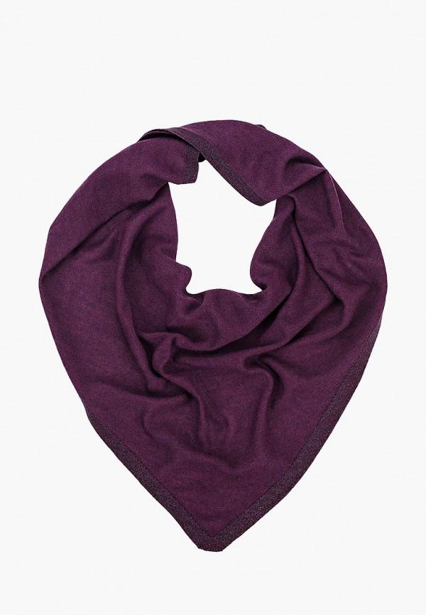 женский платок wooly's, фиолетовый