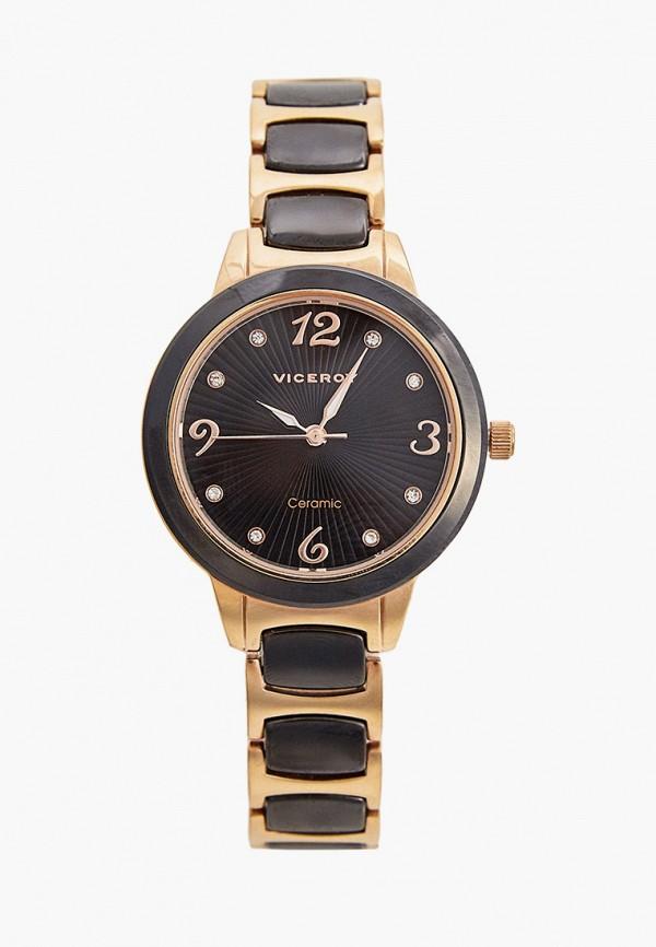 женские часы viceroy, коричневые