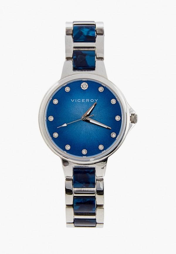женские часы viceroy, синие
