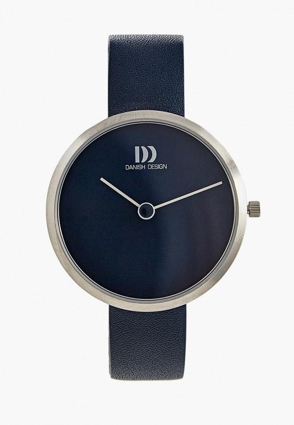 женские часы danish design, синие